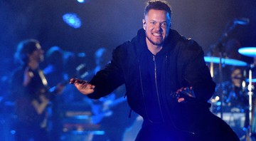 None - Dan Reynolds, vocalista do Imagine Dragons (Foto:imageSPACE/MediaPunch /IPX)
