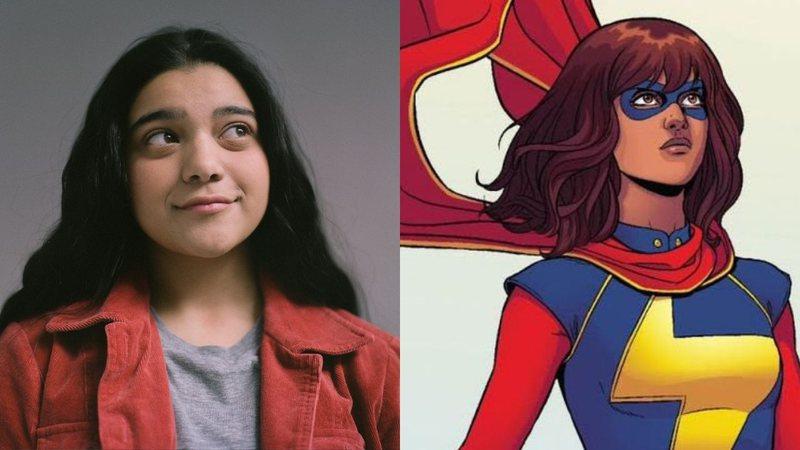Ms. Marvel: Iman Vellani / Reprodução: Rolling Stone