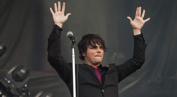None - Gerard Way, ex-vocalista do My Chemical Romance (Foto: Barry Brecheisen/Invision/AP)