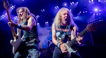 None - Iron Maiden (Foto: Amy Harris/Invision/AP)