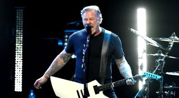 None - James Hetfield, vocalista do Metallica (Foto: Kevin Winter/Getty Images)
