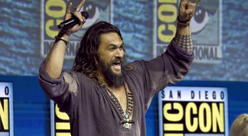 None - Jason Momoa na Comic Con San Diego (Foto: Chris Pizzello / Invision AP)