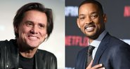 None - Jim Carrey (Foto: Getty Images / Christopher Polk / Equipe) - Will Smith (foto: AP / Jordan Strauss)