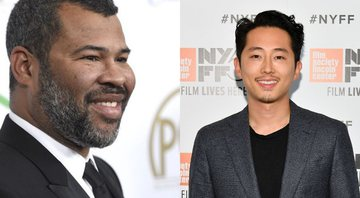 None - Jordan Peele (Foto: Chris Pizzello/Invision/AP) e Steven Yeun (Foto: Dia Dipasupil / Getty Images)