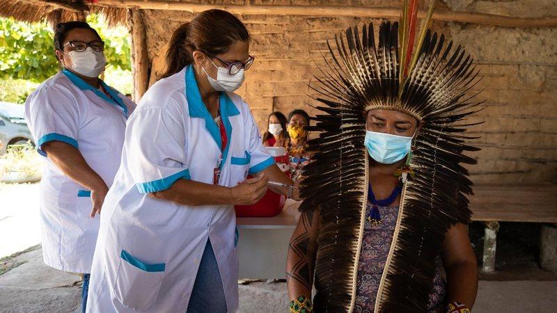 Fake news sobre vacina deixam indígenas com medo de virar jacaré, mostra  documento · Rolling Stone