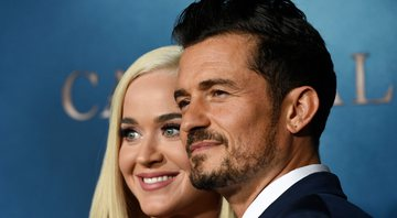 None - Katy Perry e Orlando Bloom (Foto: Chris Pizzello/Invision/AP)