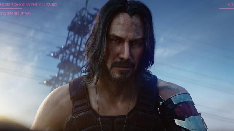 Personagem de Keanu Reeves em Cyberpunk 2077 é ex-vocalista de uma banda punk; ouça