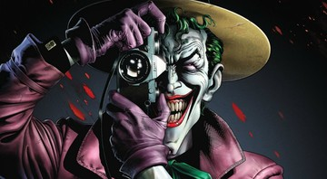 None - Coringa na Graphic Novel A Piada Mortal (Arte: Brian Bolland / DC Comics)