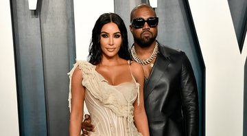 None - Kim Kardashian West e Kanye West (Foto: Frazer Harrison / Getty Images)