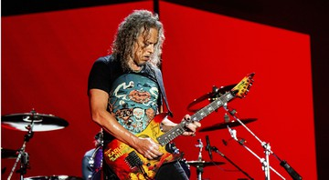 None - Kirk Hammett (Foto:Amy Harris/Invision/AP)