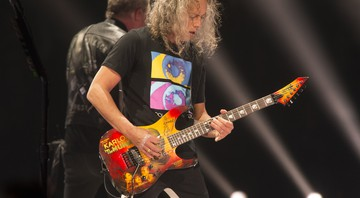 None - Kirk Hammett, do Metallica (Foto: Owen Sweeney/Invision/AP)