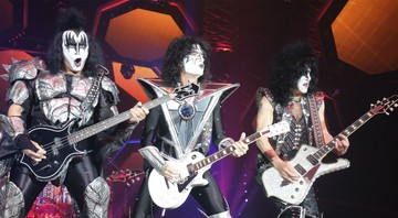None - Gene Simmons, Thommy Thayer e Paul Stanley (Foto:Sebastian Willnow/ Picture Alliance/ DPA/AP Images)