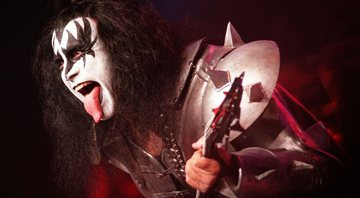 None - Gene Simmons, baixista do Kiss (foto: AP)