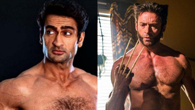 Depois de parar em site pornô, Kumail Nanjiani faz montagem de Wolverine e Hugh Jackman reage; veja