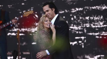 None - Kyle Minogue e Nick Cave (Foto: Joel C Ryan/ Invision / AP)