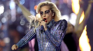 None - Lady Gaga se apresenta no Superbowl Halftime Show 2017 (Foto: Ronald Martinez/Getty Images)