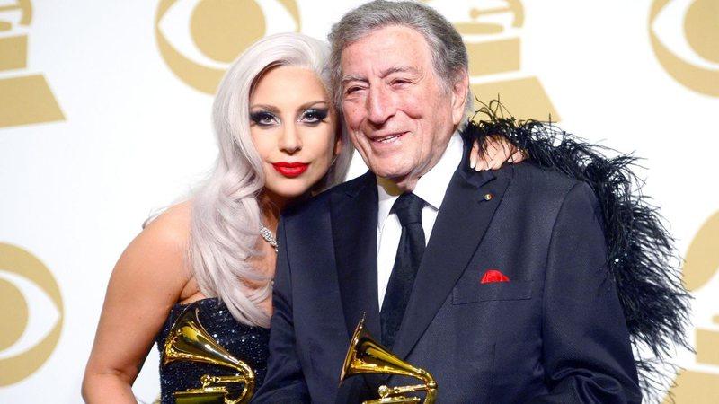 Apesar de diagnóstico de alzheimer, Tony Bennett colabora com Lady Gaga em novo disco · Rolling Stone
