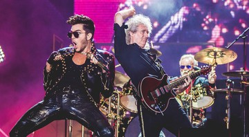 None - Adam Lambert e Brian May no Rock in Rio 2015 (Foto:I Hate Flash/Divulgação)