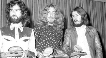 None - Jimmy Page, Robert Plant e John Bonham em 1970 (Foto: Press Association via AP Images)