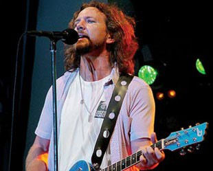 Eddie Vedder, do Pearl Jam: eternamente engajado