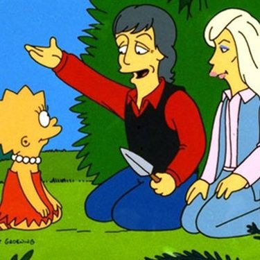 Simpsons Paul McCartney