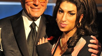 Tony Bennett e Amy Winehouse - AP
