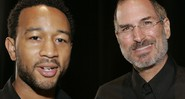 Steve Jobs e John Legend
