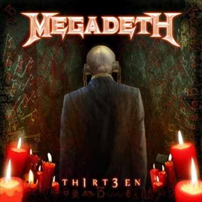 A capa de Th1rt3en, do Megadeth