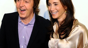 Paul McCartney e Nancy Shevell - AP