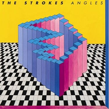 A capa de Angles, o novo disco do Strokes