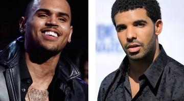 Chris Brown e Drake - AP