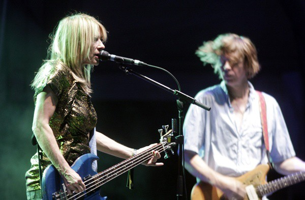 Kim Gordon e Thurston Moore