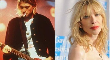 Courtney Love e Kurt Cobain - AP