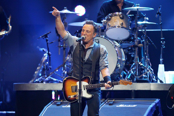 Bruce Springsteen abriu o show beneficente 12-12-12