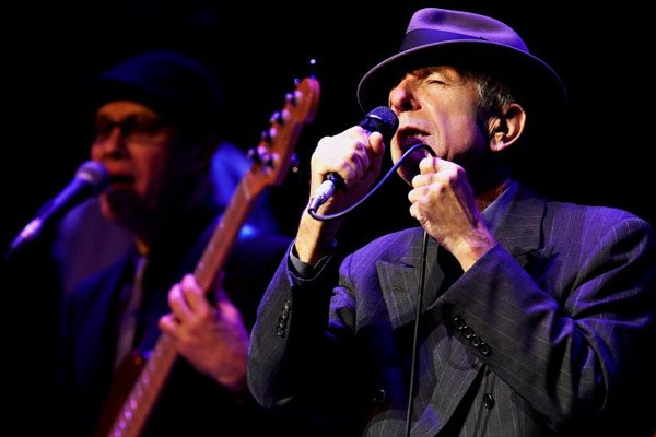 Leonard Cohen - Galeria Shows