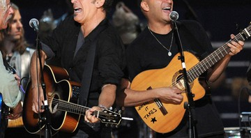 Bruce Springsteen e Tom Morello - AP