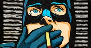 Galeria – Super-heróis do post-punk – Ian Curtis - Batman