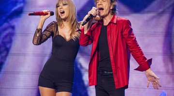 Mick Jagger e Taylor Swift - AP