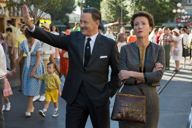 Tom Hanks como Walt Disney
