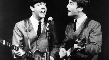 Galeria – Maiores duplas do rock – capa – John Lennon e Paul McCartney  - AP