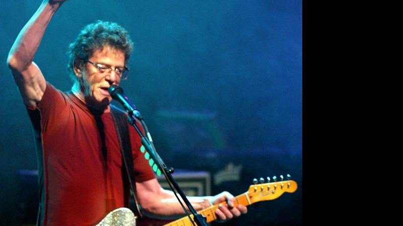 Rolling Stone · Lou Reed sabia que a doença estava em