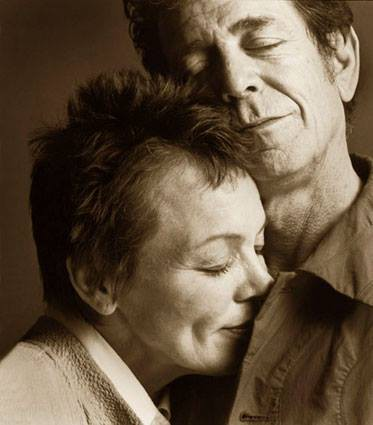 Lou Reed e Laurie Anderson