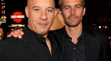 """cf6782cd490f1 Vin Diesel publicou uma foto com Paul Walker no Instagram. """"Irmão, eu  sentirei. """""""