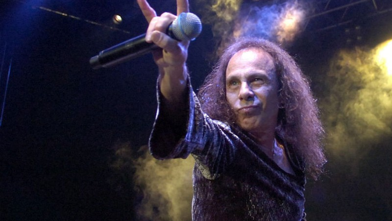 Galeria – Natal Metaleiro - Abre - Ronnie James Dio
