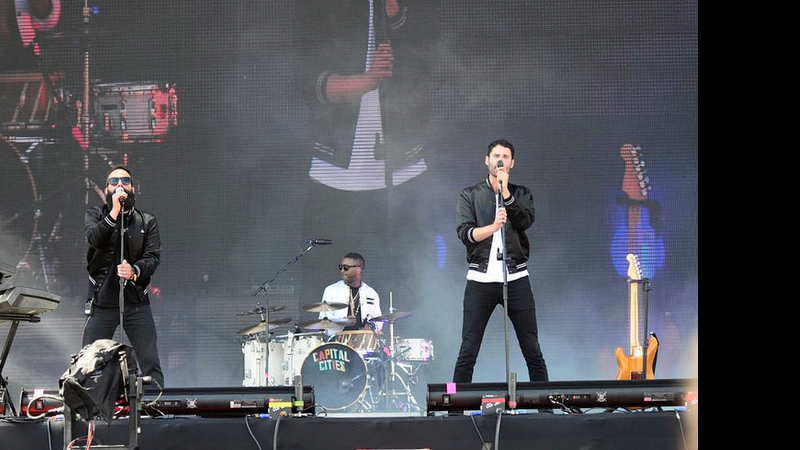 Capital Cities no Lollapalooza 2014