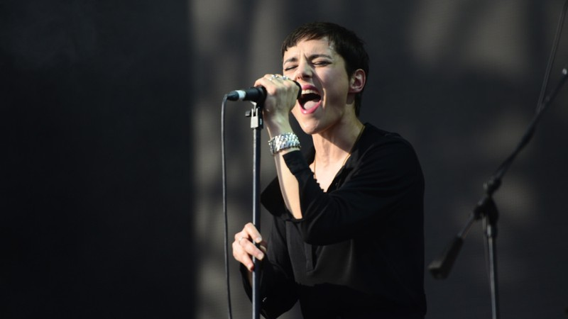 Savages no Lollapalooza 2014