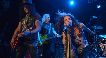 Aerosmith e Slash - John Shearer/AP