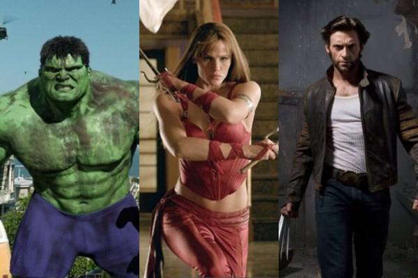 Rolling Stone · Os dez piores filmes de super-heróis da última década