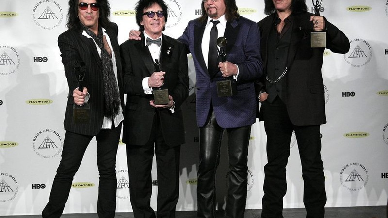 Kiss - Paul Stanley, Peter Criss, Ace Frehley, Gene Simmons