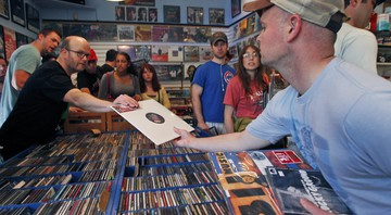 Record Store Day - Alex Brandon/AP
